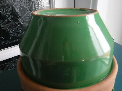 Vintage Green Italy Planter 7