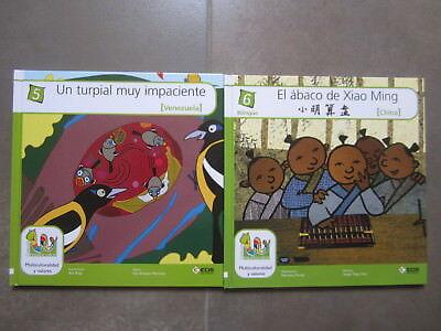 Coleccion 18 Libros Multicolor Cuentos Del Mundo Editorial Ecir. Bilingues 4