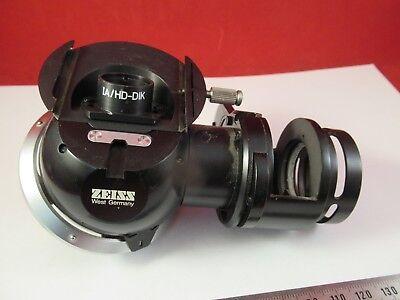 Zeiss Pol 466220 Tourelle Assemblage Microscope Pièce comme sur Photo # 9