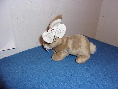 """""""ty""""  Beanie Babies.""""nibbly."""" D.o.b..may 7, 1998 (Tush Tag..1999)  Error..#394-E"""