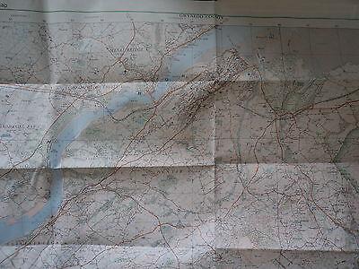 Ordnance Survey Map Snowdonia, Snowdon. 1977. Inc Llanberis, Caernarfon, Bangor 4