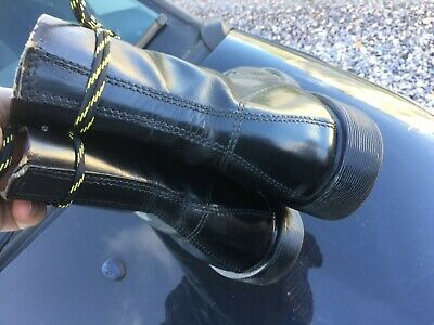 Dr Martens 1460 black leather boots UK 10 EU 45 Made in England 6