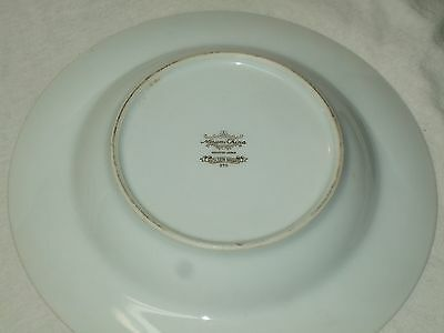 "Set Of 7 Narumi China Occupied Japan ""Golden Night"" Coupe Soup Bowls 5"