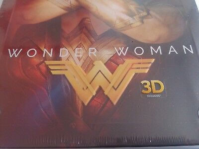 Wonder Woman 3D (4000 ONLY HMV Exclusive Limited Ed Blu-ray Steelbook) [UK 8