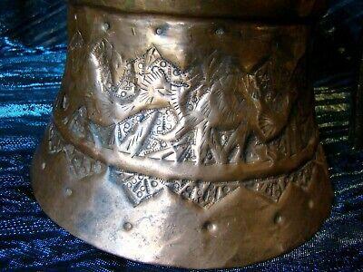Camel Caravan - Hand Hammered Copper - Water Pot - Silk Road Traders - Egypt 8