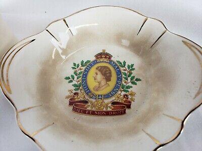 Queen Elizabeth ll Coronation Mug and Bowl 1953 2