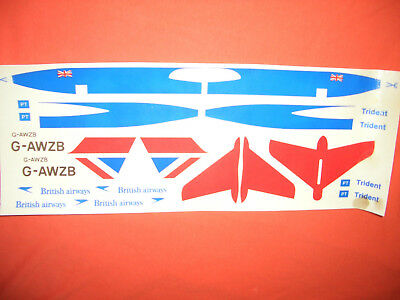1:100 VEB Plasticart, TRIDENT der BRITISH AIRWAYS