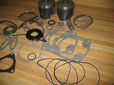 Snowmobile 81mm Top end rebuild kit Polaris 700 Classic ProX RMK VES Engine