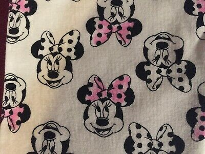 Disney Minnie Mouse Legging  Size 7  Adorable  NWT 2