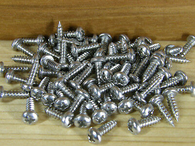 Screws For Bumper Feet / Stainless Steel / Square Drive #2 / Black / Zinc 5