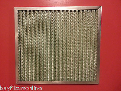 Ultimate Allergy Home Pleated Air Filter! Washable Permanent Reusable Furnace Ac 6