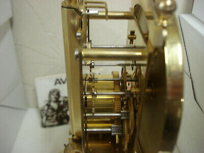 """Day clock 400 Days """" Anniversary """" Complete whit Glass for parts or repair 4"""