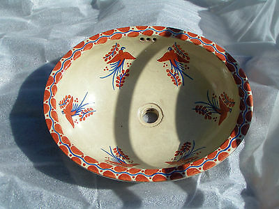 Antique Mexican Stone Sink -Origin Unknown 5