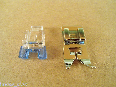 11pc PRESSER FOOT SET #5011L for LOW SHANK SNAPMATIC KENMORE SINGER BROTHER ELNA