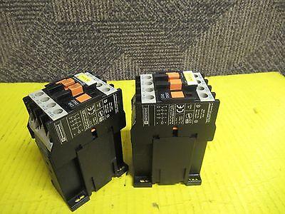 LOT OF 2 TELEMECANIQUE CONTACTOR CA3 DN22 24V COIL 10A A AMP CA3DN22BD