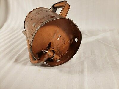 Vintage Swing Spout One Gallon MN 44 Gas Station Service Bulk Oil Filler Can 7