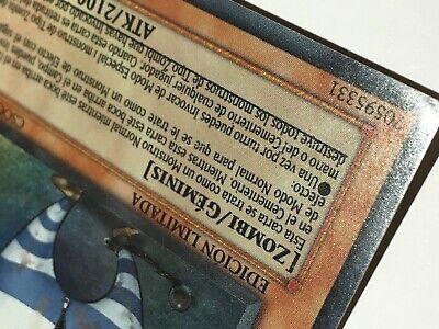 Yu-Gi-Oh ! Card : MALA SANGRE // Edición Limitada - CSOC-SPSE2 9