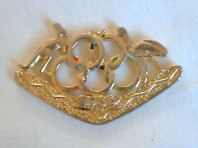 Olympic Games Collectable 1956 Melbourne Vintage Games Emblem and Coat of Arms 3