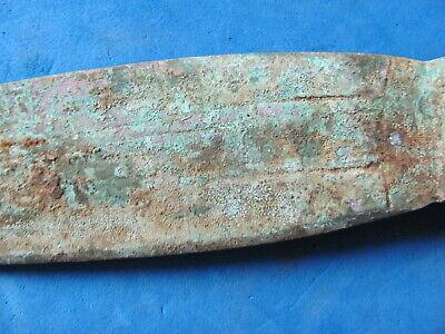 RARE  ANCIENT LURISTAN Bronze DAGGER 12th-8th cent. B.C. 7