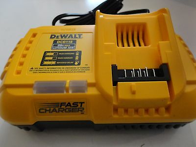 DEWALT DCB118 20V 60V MAX FLEXVOLT Lithium Ion Fan Cooled Fast Charger DCB118B 4