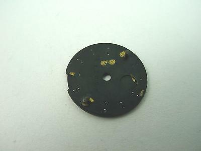 Ocean Star Powerwind Black Vintage 15.35mm Mido Watch Dial Silver Stick Markers 2
