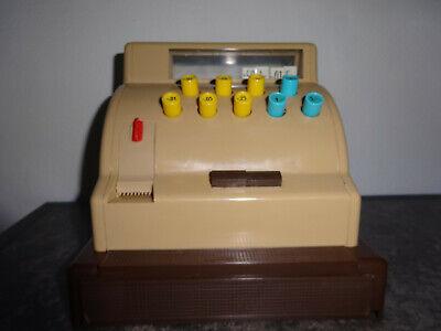 Große Kasse für Kaufladen mit Spielgeld Original 1963 7