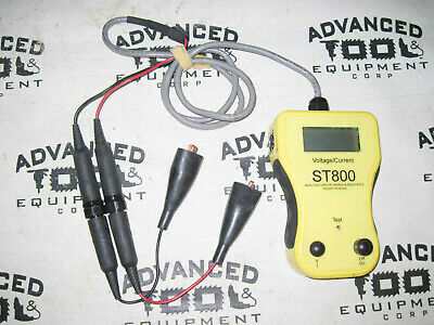 Bierer Meters ST800 & STRCV Digital All Purpose Service Tester 800 AMP Pyrometer 2