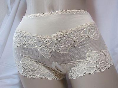 Liebes Slip offen ouvert Panty Pants Champagner Reizwäsche Lingerie Intim 36 38 2