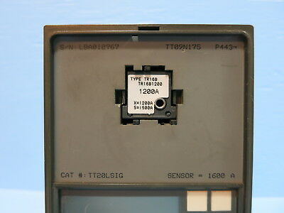 General Electric TT20LSIG 1600 A MicroVersaTrip Plus Trip Unit LSIG TR16B1200 GE
