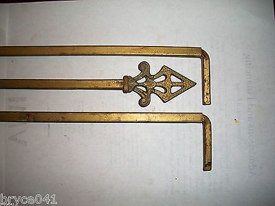 Antique Art Deco Curtain Rods With Extensions 3