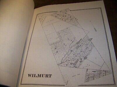 1868 Herkimer County Ny Atlas Map Fw Beers Little Falls Warren Ohio 1977 Reprint 12