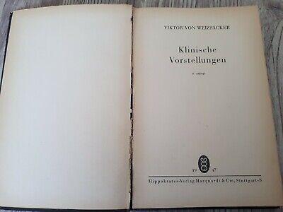 Buch: Klinische Vorstellungen - Viktor von Weizsäcker - 1947 Leib und Seele usw 4