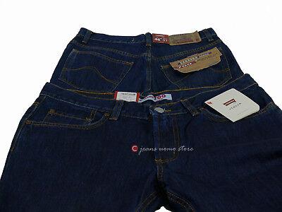 Pantalone 5 tasche cotone denim Carrera 700 jeans uomo Regular Fit Straight Legs 8