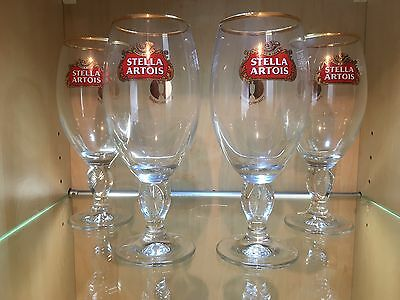 Stella Artois Chalice 4 pack of The Open Championship Special Edition  Glasses