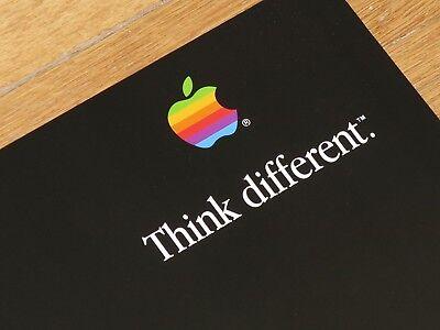 "Authentic Original Apple think different poster /""Dalai Lama/""24x36"" I mac"