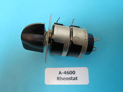 GRIMES A-4600 AIRCRAFT Instrument Light Rheostat Variable Resistor ...