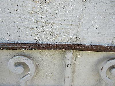 Antique Victorian Iron Gate Window Garden Fence Architectural Salvage #844 6