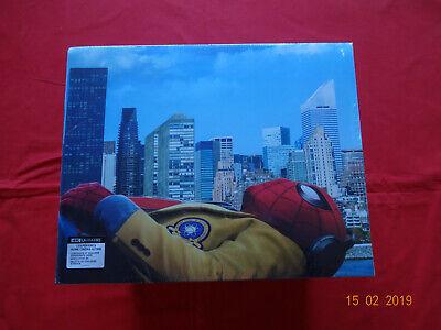 Spiderman - Coffret Spider-Man Homecoming Blu-ray 4K Ultra HD 2