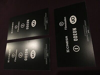 ONCE UPON A TIME IN HOLLYWOOD 3 Odeon Promo Cards - Quentin Tarantino's 9th Film 2