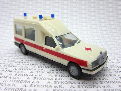 Herpa 094153 Mercedes-Benz Miesen KTW /'DRK/' 1:87 H0