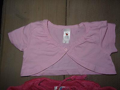 Ensemble rose leggins rayé, pull, gilet, 2 paires de chaussettes Taille 2 ans 4