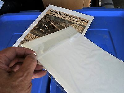 Magazine Car & Truck Ads: Pristine 2100 Qty. Sealed Sleeves w/Boards: 1920s-1973 8