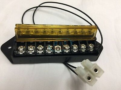 8 sets Splits 1 Input to 8 Out, 8 Way Terminal Block Bus Bar 2