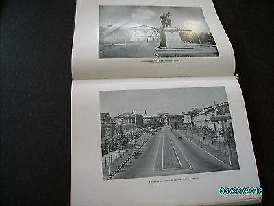 Rare  Russia 1953 Architecture Of Leningrad , Huge Illustrated Book 6