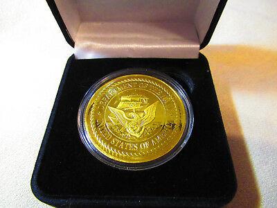 Challenge Coin CGN-40 US NAVY USS MISSISSIPPI