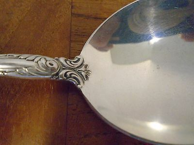 Old Master Towle Sterling Silver Round Bowl Soup Spoon No Initial 1942 3