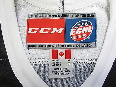 b510c1c57ee ... Stockton Thunder Breast Cancer Awareness Pink Ccm Echl Hockey Jersey 3