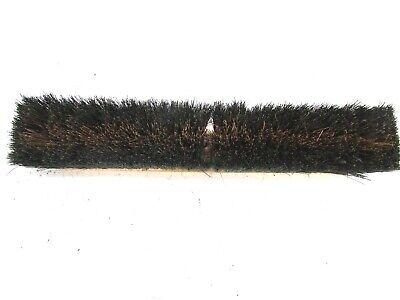 """Nos! Magnolia 18"""" Floor Brush Brown Poly & Black Plastic 3"""" Bristles 2"""
