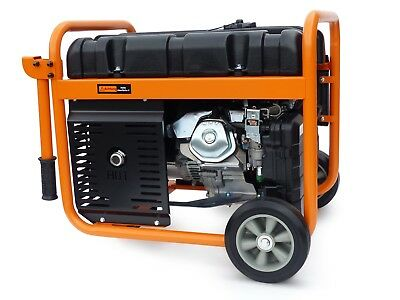 KnappWulf Stromgenerator 7300 Generator Stromerzeuger Notstromaggregat 230+400V 3