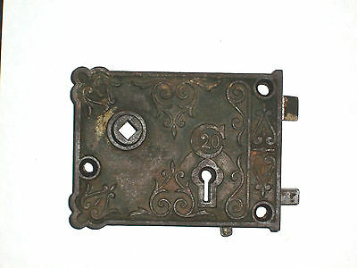 Antique C20 Rim Lock 1800's